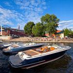 Открытие Московского речного императорского яхт-клуба
